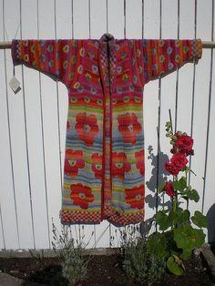 Flower Power Coat by Christel Seyfarth, via Flickr.