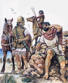"""Slinger Balearic, getulo knight and warrior edetate"""