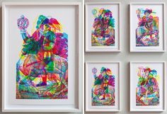 carnovsky: RGB exhibition at johanssen gallery