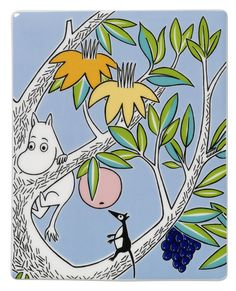 Arabia Moomin ceramics tree Sniff 89 x 89mm « Moomin Products « Ihanaiset.fi