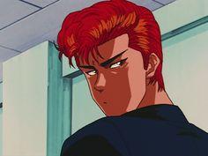Aesthetic Colors, Aesthetic Videos, Aesthetic Anime, Aesthetic Art, Old Anime, Anime Guys, Manga Anime, Slam Dunk Manga, Anime Stories