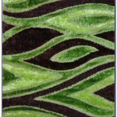 Lime Green Area Rug 5x7