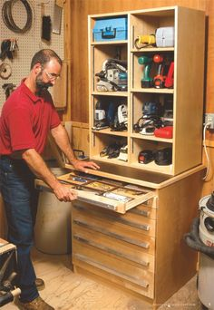 Tool Cabinet - The Woodworker's Shop - American Woodworker