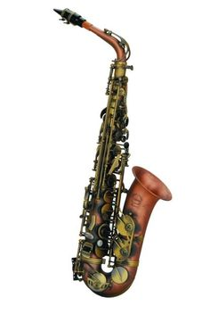 "Chateau Alto Saxophone Professional Handmade Model TYA-753ANEAll Antique BodyProduct Features:All antique finish bodyRib construction, red brass body (with 92% copper) Roll Tone HoleLower Stack Adjustment ScrewsDouble Arm - Low C, B, B-flatEngraving on bow, bell & bell rimIncludes mouthpiece, ligature and capComes with deluxe durable caseFeedback on the Chateau music Instrument:""Just trying out one of the ""Chateau USA"" alto saxes at NAMM 201..."