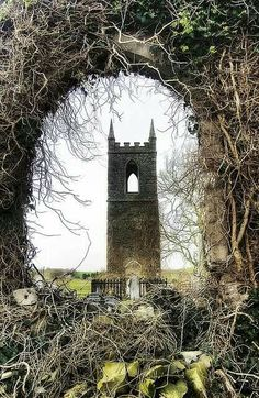 Tullylish Old Church Tower,  County Down, Northern Ireland