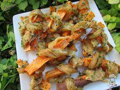 (wheat, gluten, grain and dairy-free) chicken wrapped sweet potato dog treat recipe