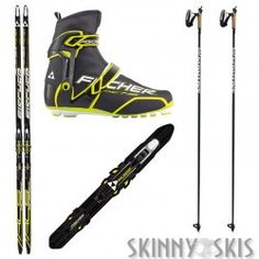 Great race skate package from Fishcer Ski Packages, Nordic Skiing, Cross Country Skiing, Lust, Skate