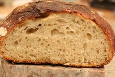 Ridiculously easy, schedule friendly, sourdough bread