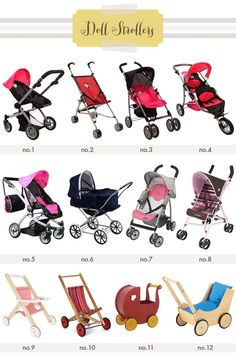 Amazon.com : The New York Doll Collection 2-1 Doll Stroller with ...