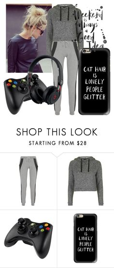 """""""Untitled #116"""" by derpyberry on Polyvore featuring Lot78, Topshop, Microsoft, Casetify and Beats by Dr. Dre"""