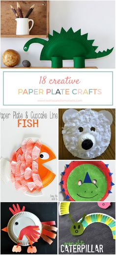 Great ways to entertain your toddler with these creative paper craft ideas. Click through to read now or pin for later.