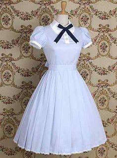 classic lolita , like Alice in Wonderland