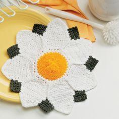 Couvertures Lance etc. 20 HANDMADE MARGUERITES-métier à tisser des fleurs couvre-