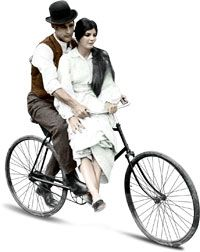 a bicycle made for two...
