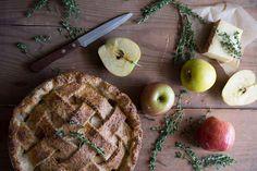 Apple Pie With a Smoky Gruyère Thyme Crust