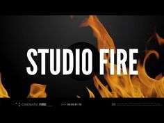 Rampant Studio Fire - 2K, 4K and 5K Fire Stock Footage. Bigger is Truly Better.
