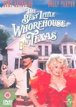THE BEST LITTLE WHOREHOUSE IN TEXAS: in this filmization of the hit Broadway musical, a popular brothel is threatened with a shutdown by Texas authorities. Burt Reynolds plays the Sheriff, while Dolly Parton portrays the Chicken Ranch madam. 80s Movies, Great Movies, Movie Tv, Burt Reynolds, Dolly Parton Movies, Cage, Smokey And The Bandit, Texas, Reality Of Life