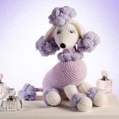 Receita de crochê Cachorrinho Poodle amigurumi