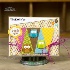 Card by Corri Garza for the Terrific Tuesday Challenge - Birds of a Feather