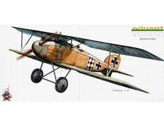 The Eduard 1/48 Albatros D.III plastic aircraft model accurately recreates the real life German biplane fighter flown during World War I. This plastic aircraft kit requires paint and glue to complete.