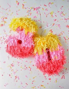 a pretty cool life.: diy: cereal box mini pinata