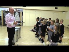 Primary Music Lesson: Rhythmically Speaking: 11 Call and Response - YouTube ( B section to entire piece )