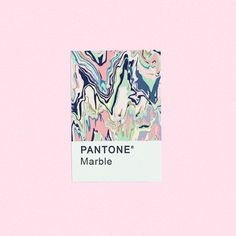 Source: unknown #marble #pantone #colour #pink #graphicdesign