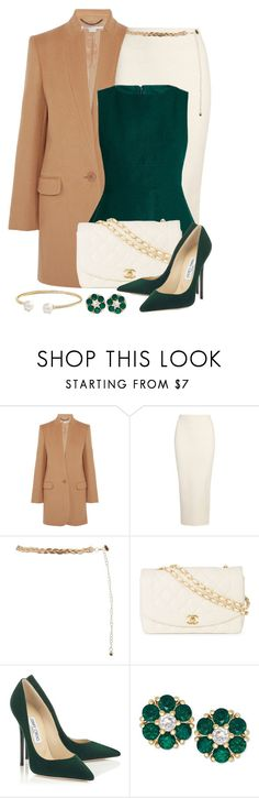 """""""Untitled #1580"""" by gallant81 ❤ liked on Polyvore featuring STELLA McCARTNEY, Yeezy by Kanye West, Marni, Chanel and David Yurman"""