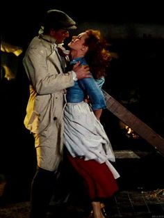 John Wayne and Maureen O'Hara, The Quiet Man. A great one and John Wayne week on TCM has reminded me of what a diversely talented actor he was. Golden Age Of Hollywood, Hollywood Stars, Classic Hollywood, Old Hollywood, Old Movies, Vintage Movies, Great Movies, Classic Movie Stars, Classic Movies