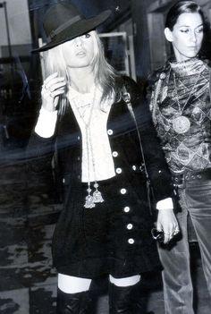 5 Brigitte Bardot Looks to Inspire Your Fall Wardrobe via @WhoWhatWearUK