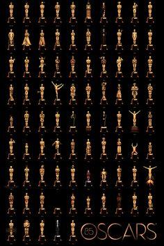 85 Oscars du meilleur film en une affiche [PHOTO] - News films Vu sur le web - AlloCiné