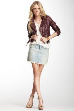 Sadie Denim Mini Skirt on HauteLook Denim Mini Skirt, Jean Skirt, Mini Skirts, Fashion And Beauty Tips, Sadie, True Religion, Skirt Fashion, Casual Wear, Eye Candy