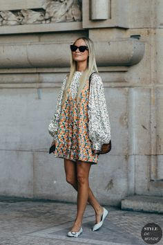 The Best Street Style Looks From Paris Fashion Week Spring 2019 - outfit ideas - Looks Street Style, Urban Street Style, Casual Street Style, Looks Style, Street Chic, Street Style Fashion, Street Style Dresses, Parisian Street Style, Paris Street Style Summer