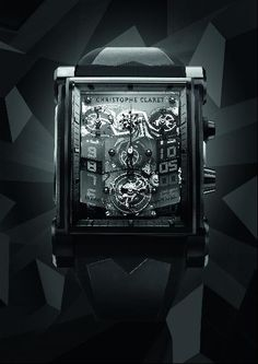 The World's Most Expensive Watches: Christophe Claret DualTow Night Eagle