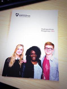 Check out @UniNorthants 2015 Prospectus starring #AdStudents as cover girls/boy @j_hind @KoriiLovee @larissa_ayresss