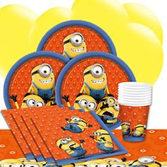 Minions Party Supplies - Despicable Me   Asda Party