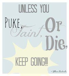 Running Quote - Jillian Michaels