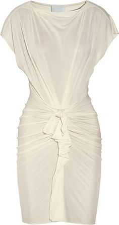 Knotfront Silk and Cottonblend Dress by 3.1 Phillip Lim from The Outnet