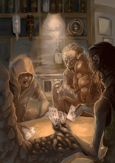 infected poker by ~AlexiusSana on deviantART