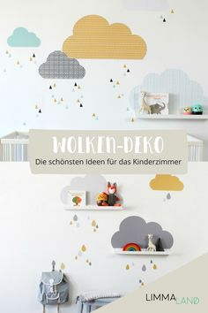 Beautiful clouds children& room you can easily it our wall tattoos gesta . - You can easily design beautiful clouds children& room with our wall tattoos. Nursery Room, Boy Room, Kids Room, Clouds Nursery, Wall Stickers Clouds, Wall Decals, Tattoos For Baby Boy, Big Living Rooms, Wall Tattoo