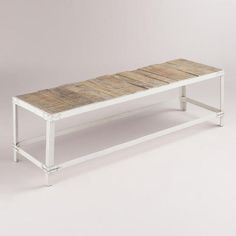 One of my favorite discoveries at WorldMarket.com: Nelson Industrial Bench
