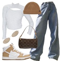 Image in outfits 9 collection by vodkabitchess Baddie Outfits Casual, Style Outfits, Cute Swag Outfits, Mode Outfits, Retro Outfits, Trendy Outfits, Polyvore Outfits Casual, Tomboy Fashion, Teen Fashion Outfits