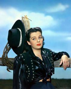 Gail Russell does western wear