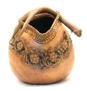 Pin Needle basket with gourd