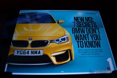 CAR Magazine Unleashes Supposed 2014 BMW M3 Details and Preview Images  http://www.automotiveaddicts.com/35478/car-magazine-supposed-2014-bmw-m3-details-images