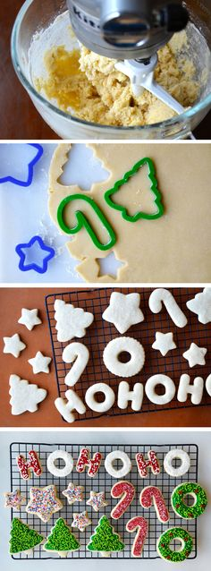 The Best Cutout Sugar Cookies Recipe Christmas Sugar Cookies, Christmas Sweets, Christmas Cooking, Holiday Cookies, Holiday Treats, Holiday Recipes, Christmas Cookies Cutouts, Christmas Cutout Cookie Recipe, Sugar Cookies Recipe