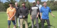 Dude Perfect unveils new golf trick shot video.