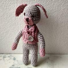 Paní Pejsková Crochet Dolls, Panama, Teddy Bear, Toys, Animals, Activity Toys, Animales, Animaux, Toy
