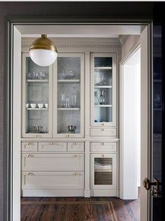 Reclaimed Hardwood Cabinet with French Reproduction Hardware ...