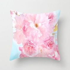 peony pillow hearts | ... www.etsy.com/listing/184318930/photo-pillow-soft-blue-sky-with-pink
